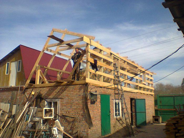 Как сделать новую крышу на старый дом 163